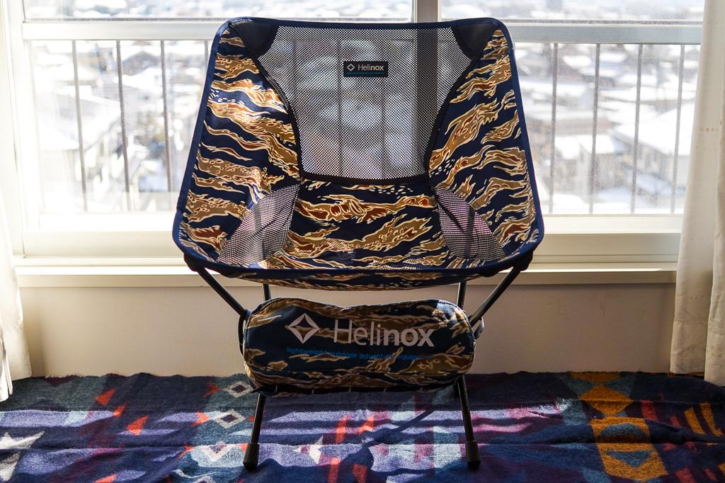 ヘリノックスチェアワンカモ柄完成の写真