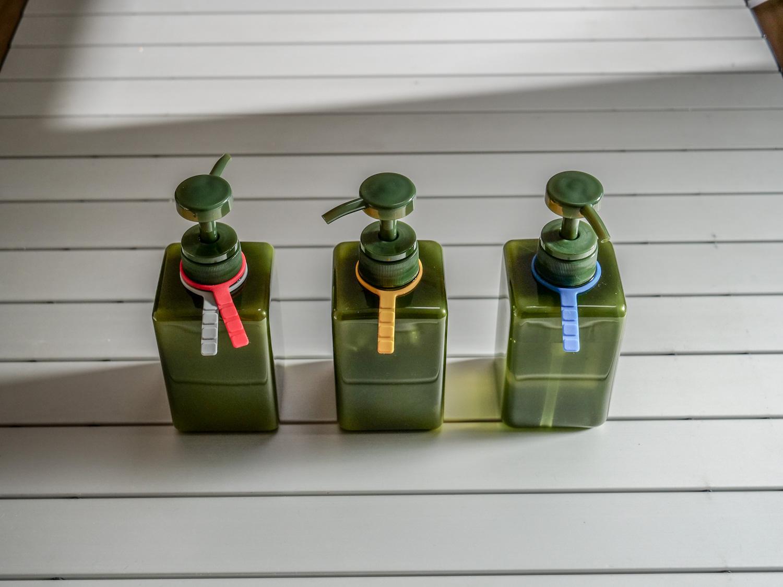 無印良品詰替ボトル用識別リング
